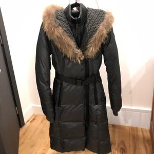 Rudsak winter coat  small dark gray